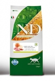 N&D GF CAT Adult Boar & Apple 10kg + BAREL ZDARMA