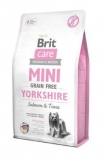 Brit Care Dog Mini Grain Free Yorkshire 2kg+2x kapsička 85g zdarma