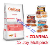 Calibra Dog EN Sensitive Salmon  12kg + ZDARMA MULTI JOY