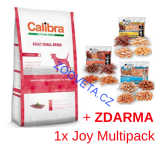 Calibra Dog GF Adult Small Breed Duck  7kg + ZDARMA MULTI JOY
