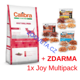 Calibra Dog HA Adult Small Breed Chicken  7kg + ZDARMA MULTI JOY