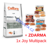 Calibra Dog EN Light  12kg + ZDARMA MULTI JOY