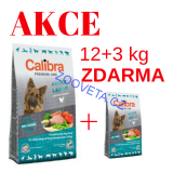 Calibra Dog Premium Line Adult Large + 3kg ZDARMA
