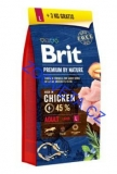 Brit Premium Dog by Nature Adult L 15kg + 3kg ZDARMA