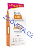 Brit Care Dog Adult Medium Breed Lamb & Rice 12kg+2kg
