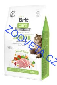 Brit Care Cat GF Senior Weight Control 0,4kg