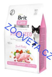 Brit Care Cat GF Sterilized Sensitive 0,4kg
