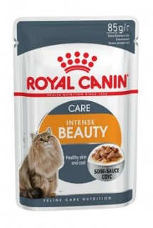 Royal canin Kom.  Feline Int. Beauty kapsa, šťáva 85g