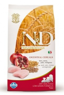 N&D LG DOG Puppy Chicken & Pomegranate 800g