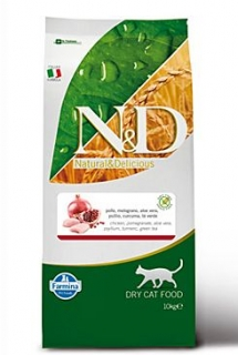 N&D GF CAT Adult Chicken & Pomegranate 10kg