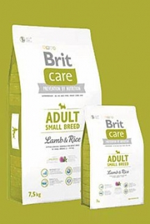 Brit Care Dog Adult Small Breed Lamb & Rice 7,5kg