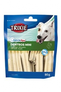 Dentafun DENTROS MINI Light tyčinky pes 60g TR