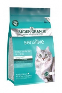 Arden Grange Cat Sensitiv Ocean Fish&Potato 4kg