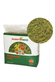 Seno  luční RabbitWeed 0,6kg 1,9 l