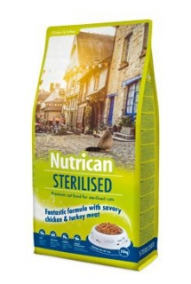 NutriCan Cat Sterilised 2kg