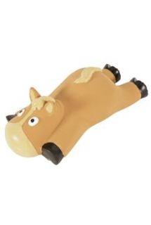 Hračka pes Sleeping animal Kůň latex 16cm Zolux