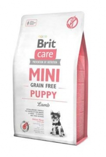 Brit Care Dog Mini Grain Free Puppy Lamb 2kg+2x kapsička 85g zdarma