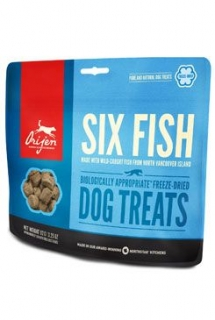 Orijen Dog  pochoutka F-D Six Fish Treats 92g