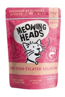 MEOWING HEADS So-fish-ticated Salmon kapsička 100g