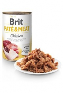 Brit Dog konz Paté & Meat Chicken 800g