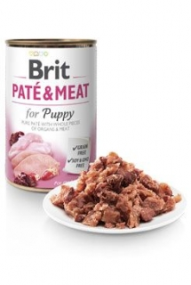Brit Dog konz Paté & Meat Puppy 800g