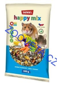 Darwin's drobný hlodavec happy mix 500g