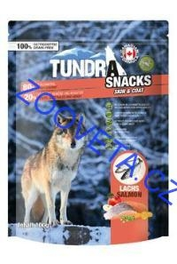 TUNDRA dog snack Salmon Skin & Coat 100g