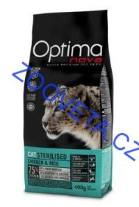 Optima Nova Cat Sterilised 400g