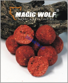 Magic Wolf 20mm BOILIES SPEED WOLF 250 gr JAHODA