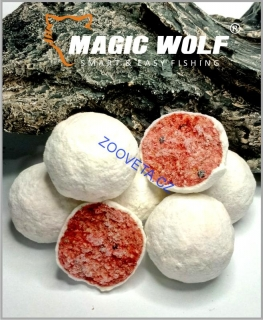 Magic Wolf 20mm BOILIES SPEED WOLF 250 gr - MLÉČNÁ JAHODA