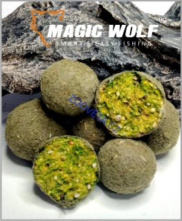 Magic Wolf 24mm BOILIES SPEED WOLF 250 gr - GREEN BALL