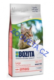 Bozita Feline Large Wheat Free Salmon 2kg