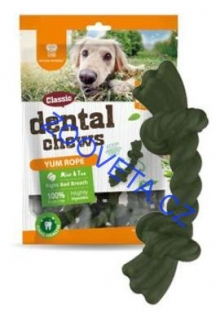 Dental Chews Yum Rope máta a čaj 170g/22ks