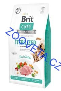 Brit Care Cat GF Sterilized Urinary Health 7kg