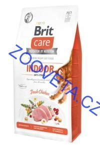 Brit Care Cat GF Indoor Anti-stress 7kg