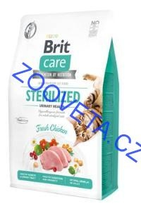 Brit Care Cat GF Sterilized Urinary Health 2kg