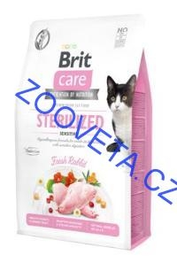 Brit Care Cat GF Sterilized Sensitive 2kg