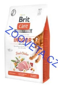 Brit Care Cat GF Indoor Anti-stress 2kg