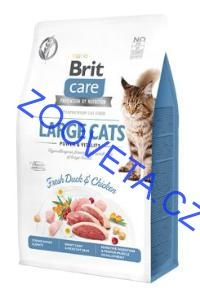 Brit Care Cat GF Large cats Power&Vitality 0,4kg