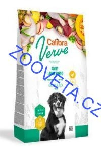 Calibra Dog Verve GF Adult Large Chicken&Duck 12kg+malé balení zdarma
