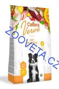 Calibra Dog Verve GF Adult Medium Chicken&Duck 12kg+malé balení zdarma