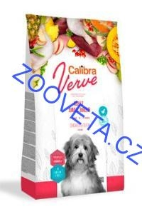 Calibra Dog Verve GF Adult Small Chicken&Duck 6kg+malé balení zdarma