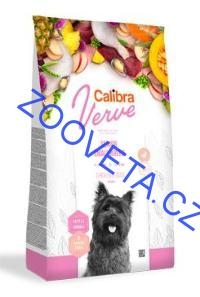 Calibra Dog Verve GF Senior Small Chicken&Duck 6kg+malé balení zdarma