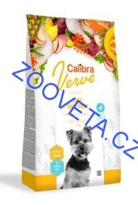 Calibra Dog Verve GF Junior Small Chicken&Duck 6kg+malé balení zdarma